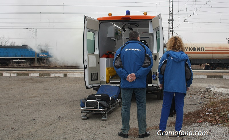 Тежък инцидент: Влак премаза мъж край Долно Езерово