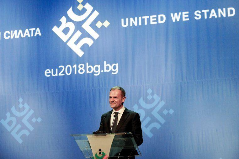 Ирландец написал речта на Туск, която впечатли цяла България