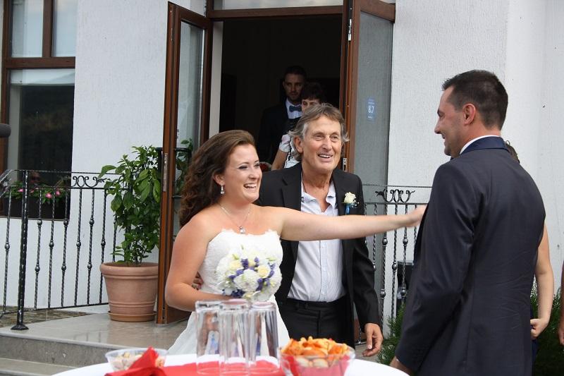 Росен Петров омъжи дъщеря си