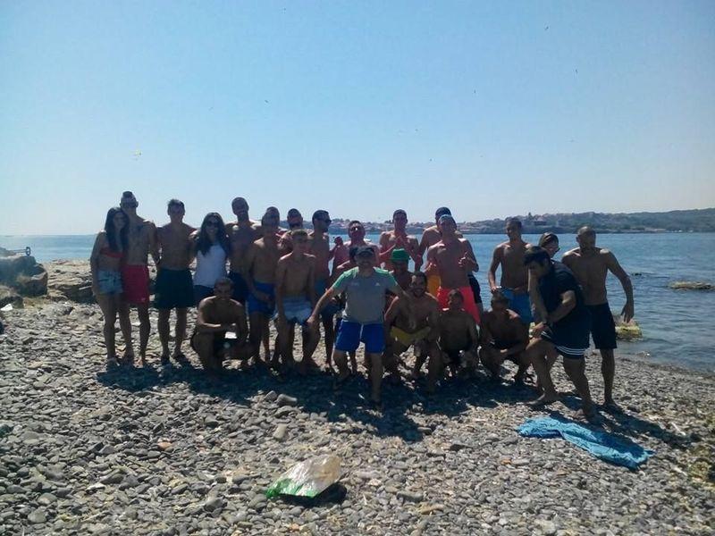 Футболистите на Созопол на островен тиймбилдинг