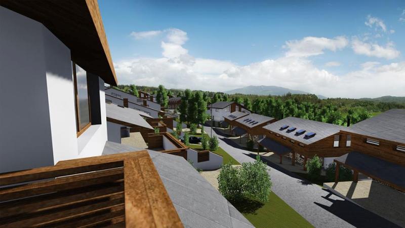 Ръст на зелени жилищни комплекси