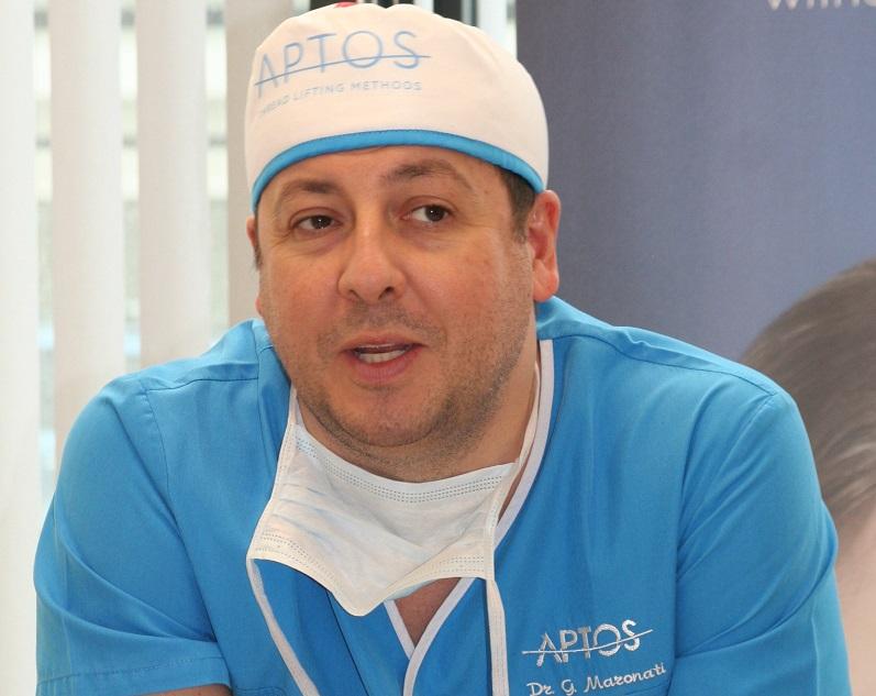 Д-р Гуидо Маронати: Третото поколение конци на Aptos с хиалуронова киселина заместват оперативния лифтинг