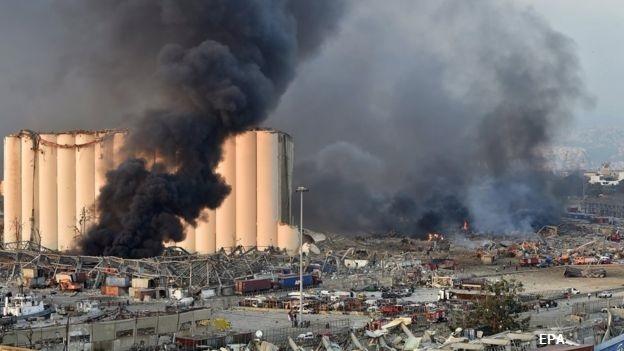 2750 тона амониева селитра изравниха Бейрут