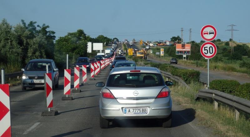Започва ремонт на пътя от Бургас до Ветрен