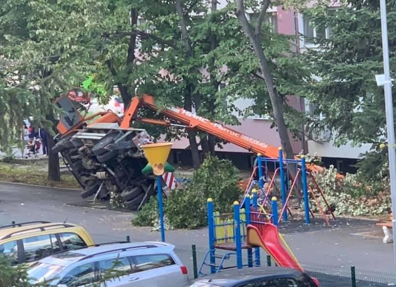 Трудова злополука в Бургас