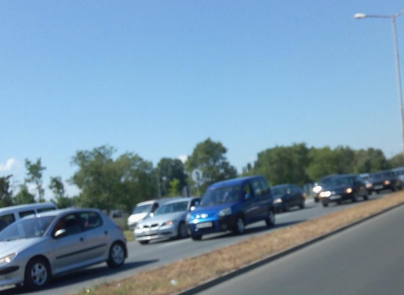 Катастрофа блокира входа на Бургас