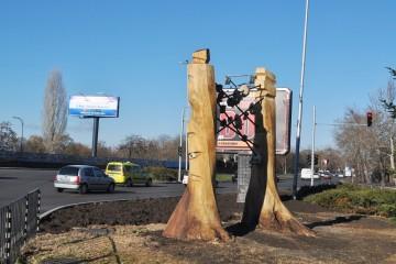 Нов арт проект замени болни дървета