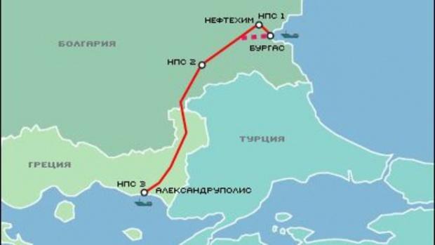 Увеличават със 120 000 лв. капитала на компанията за нефтопровода Бургас-Александруполис