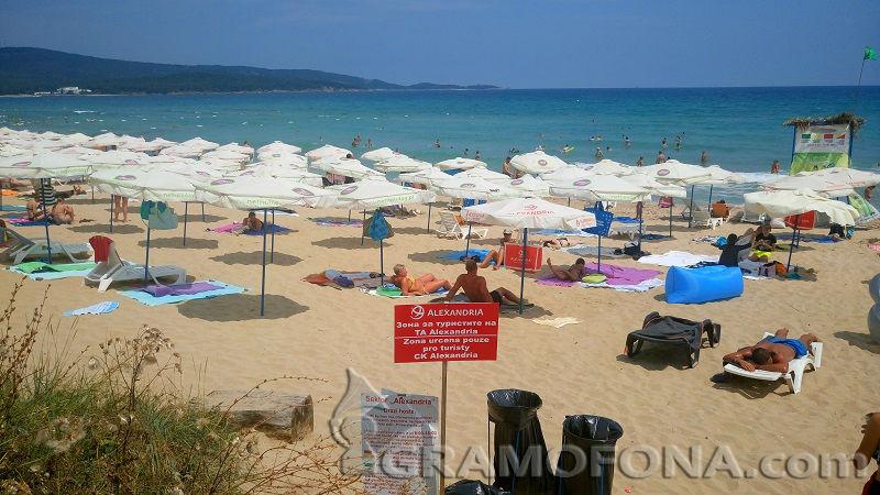 Свободна ли е свободната зона на Северния плаж в Приморско?