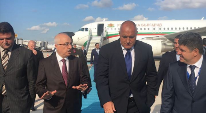 Борисов на среща с Ердоган