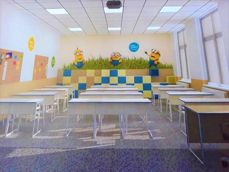100 обновени класни стаи ще посрещнат бургаските първокласници
