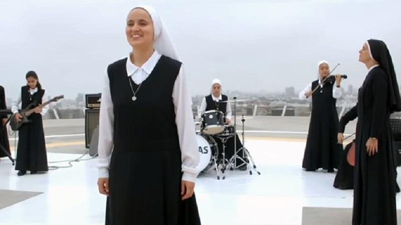 Монахини ще забиват рок пред папата