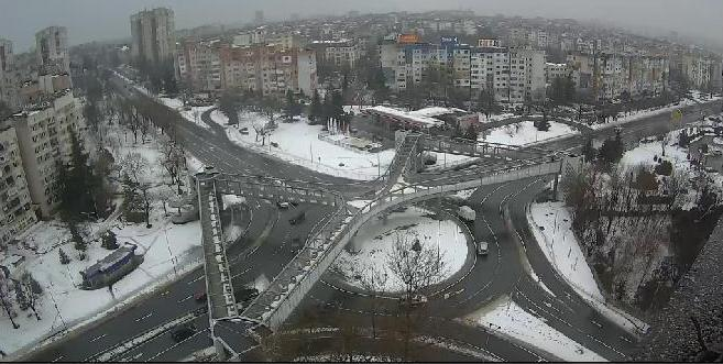 Прогноза: Дъжд, сняг и силен вятър тази седмица в Бургас