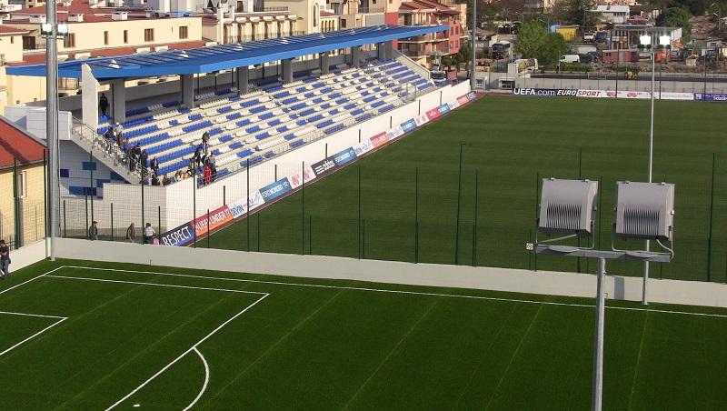Арена Созопол с двойно осветление за футболния сезон