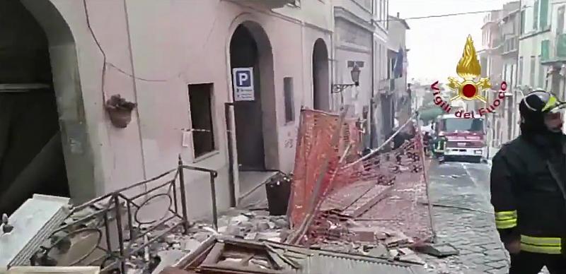 Взрив в кметство край Рим, девет души са ранени
