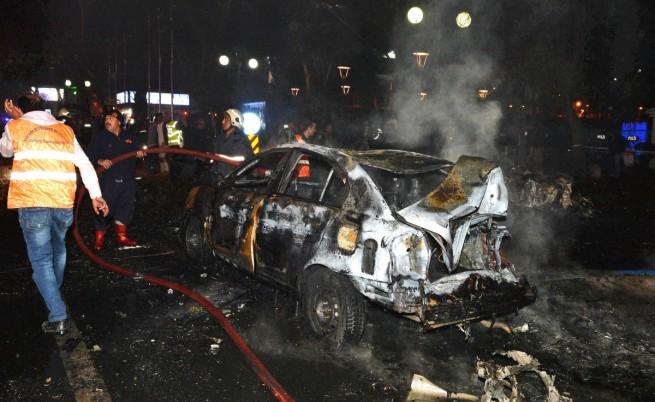 При атентата в Анкара: 34 загинали, 125 ранени