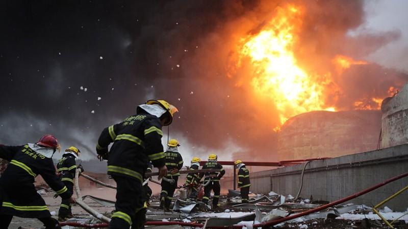 Мощна експлозия в химически завод в Германия