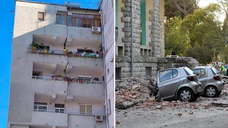 Задържаха 9 души заради опустошителното земетресение в Албания