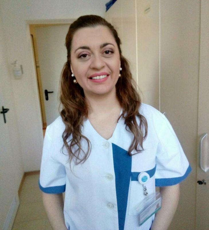 Гергана Давидкова – чаровната операционна сестра