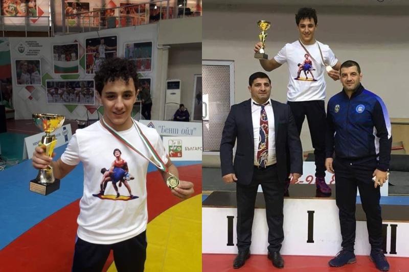 Състезаващият се за Бургас Назарян-младши стана шампион