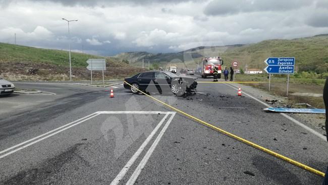 Катастрофа с автомобила на Лютви Местан, 6-месечно бебе е загинало
