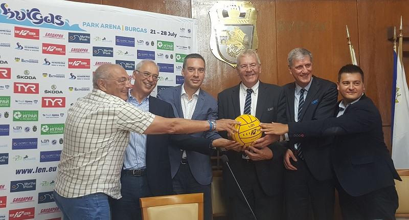 Кметът на Бургас: България се връща на картата на водната топка с историческото Европейско първенство