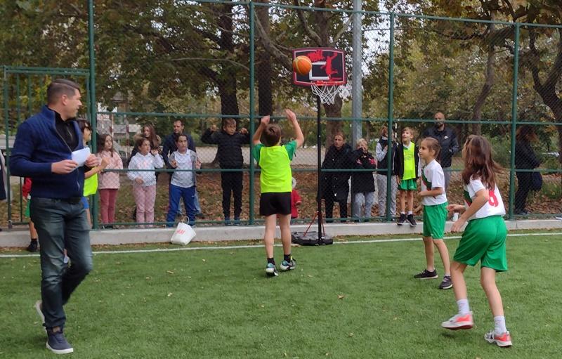 Атрактивно състезание по стрийтбол в Бургас