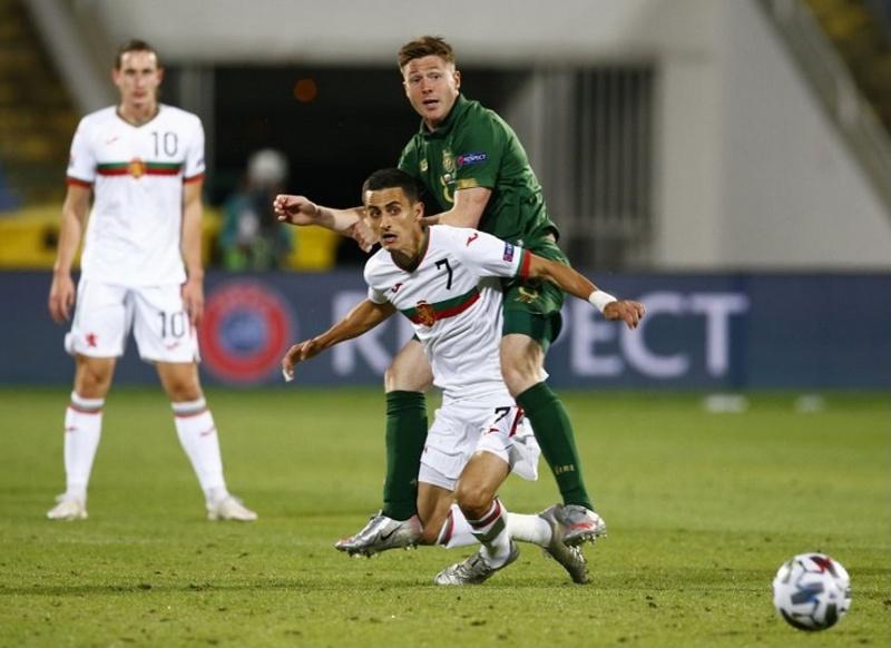 България изпусна победата срещу Ирландия в 93-ата минута