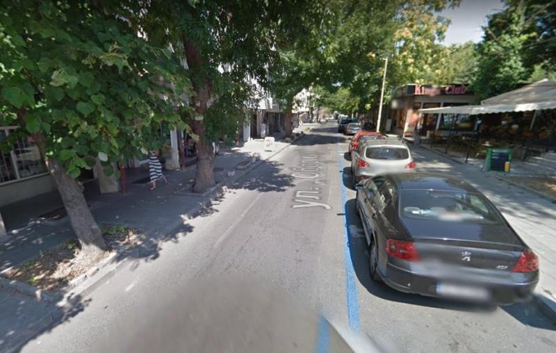 Затварят за движение част от улица в центъра на Бургас