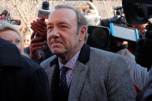 Свалиха обвиненията срещу Кевин Спейси за сексуално посегателство