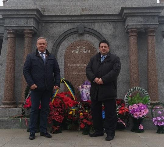 Бургаски депутат  в Украйна за националния празник