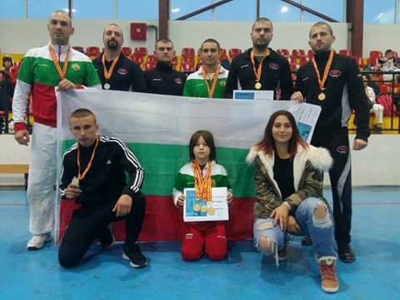 Бургаски полицаи с куп медали по джу джицу