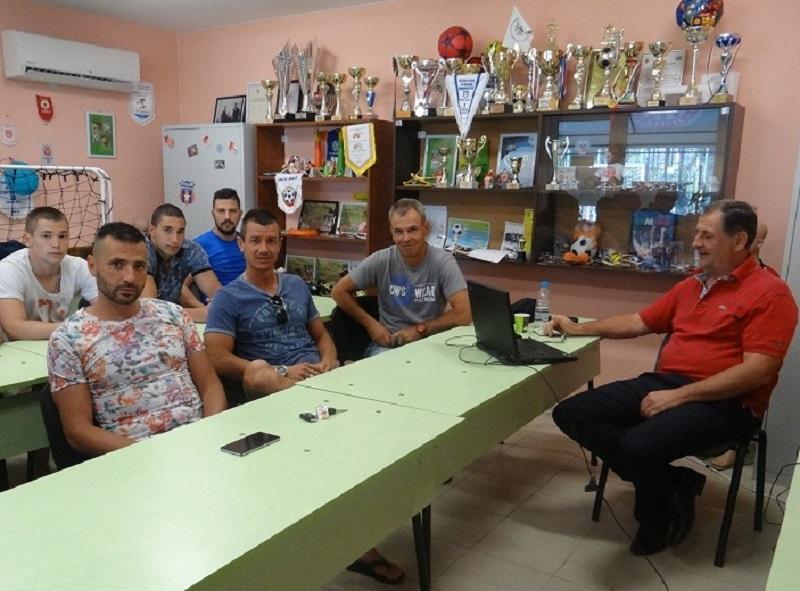Футболни съдии избраха базата на Звездичка за обучителен семинар