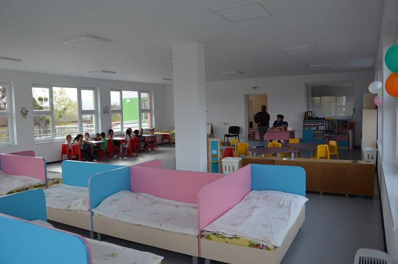 Нова детска градина в Равадиново