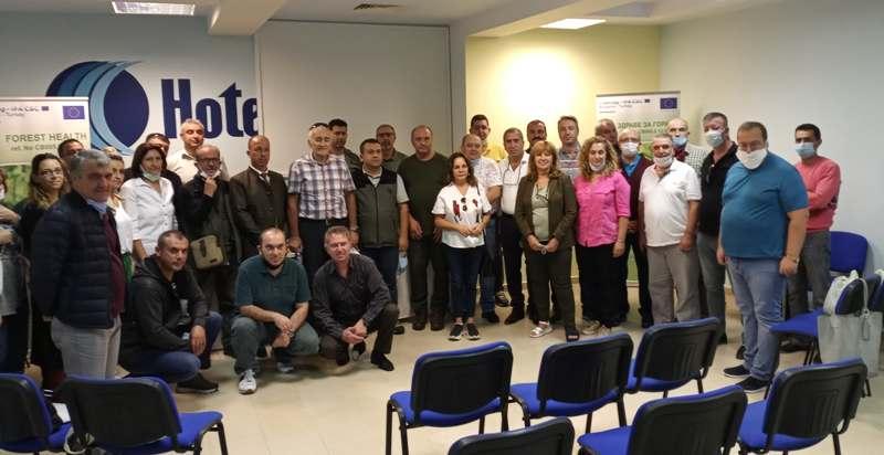 Бургаски и турски горски експерти – заедно в борбата срещу короядите