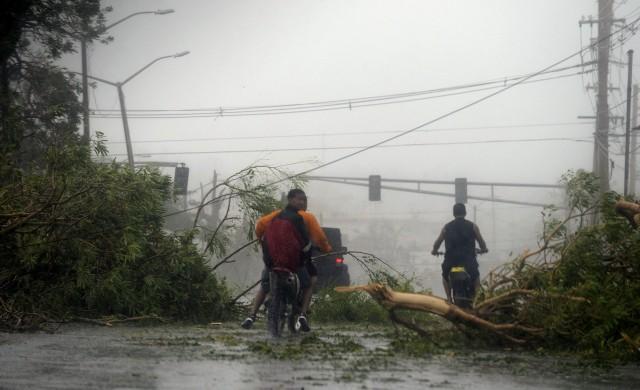 Ураганът Мария взе 9 жертви в Пуерто Рико