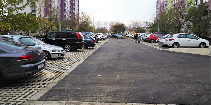 Нови 70 паркоместа в Славейков