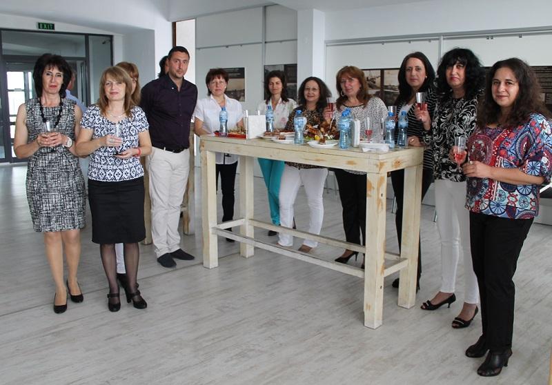 Коктейл за учителите на община Царево