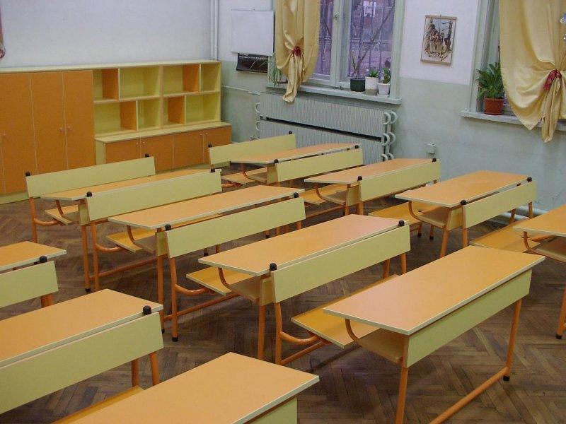 Циганка нахлу с шут в класната стая