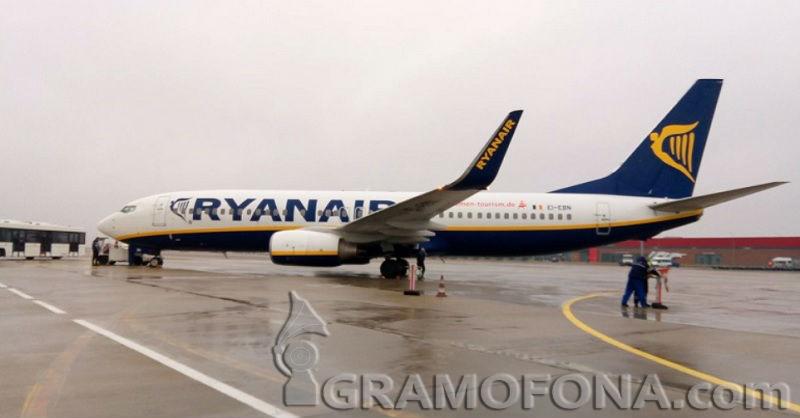 Райънер пуска полети от Бургас до полския град Катовице