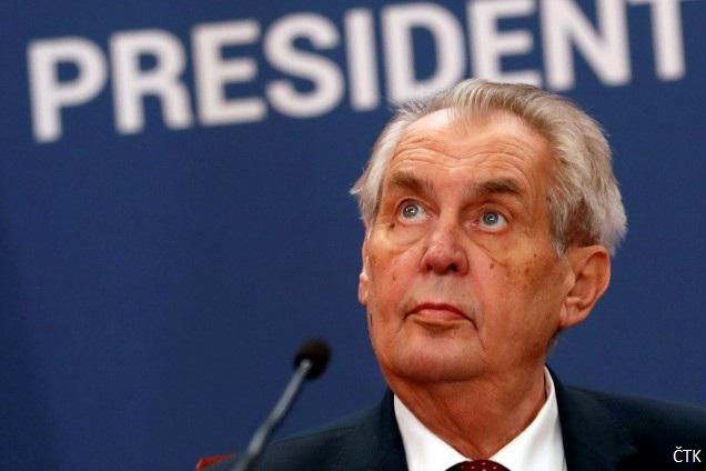 Обявиха чешкия президент за недееспособен