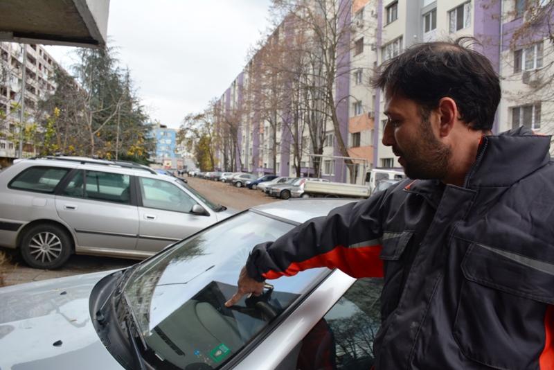 Падащи стъкла държаха будни жителите на Славейков тази нощ