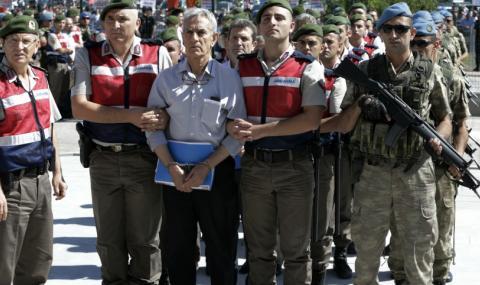 Ердоган нареди: Гюленистите да са облечени в кафяво
