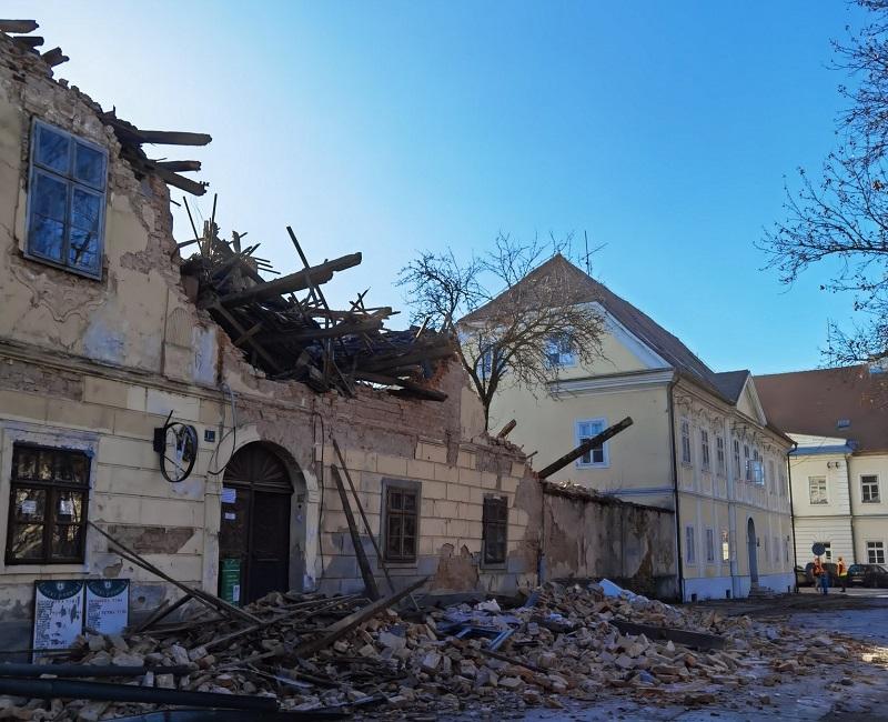 Мощно земетресение разтърси Хърватия, загинало е дете