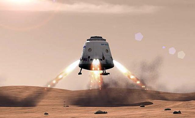 Астронавт на Марс, но с увреден мозък