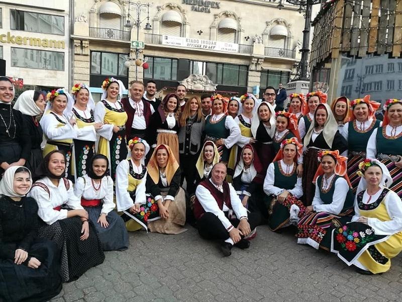 Танцьори от Поморие възхитиха Будапеща с кръшни хора