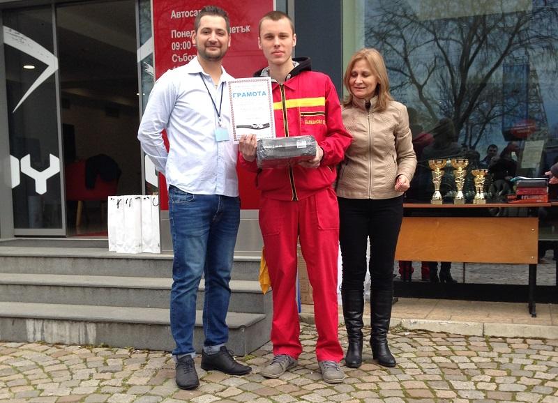 Най-добрите млади механици и автомобилни асове на България учат в Бургас