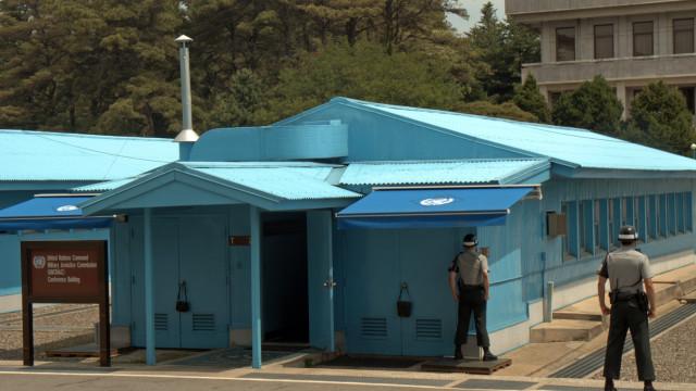 Войник от Северна Корея избяга през границата с Южна Корея