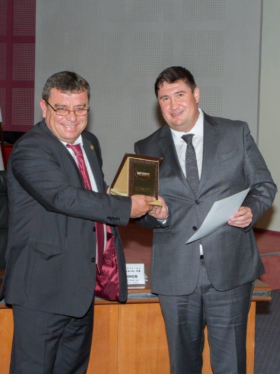 ЛУКОЙЛ Нефтохим Бургас с приз за Общински дарител