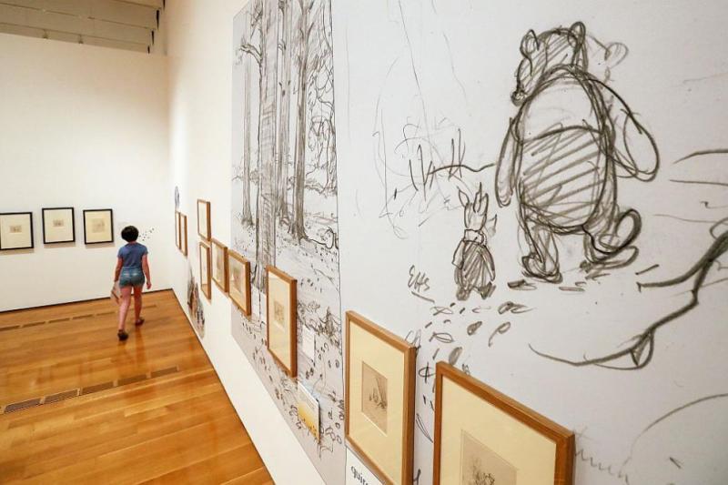 Илюстрация към Мечо Пух е продадена на търг за рекордна сума